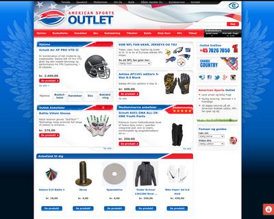 outlet.dk website