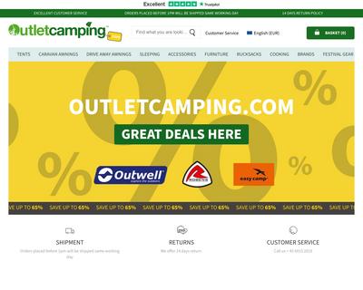 outletcamping.com website