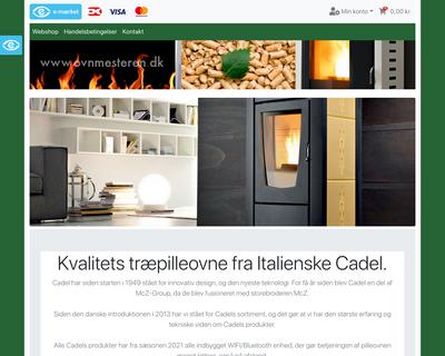 ovnmesteren.dk website