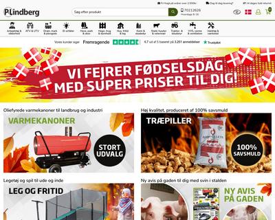 p-lindberg.dk website