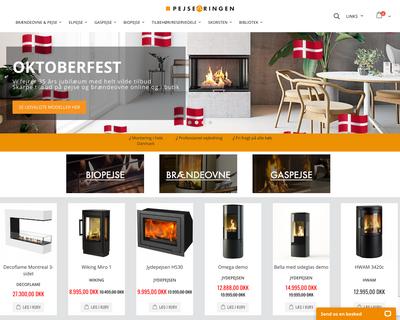 pejseringen.dk website
