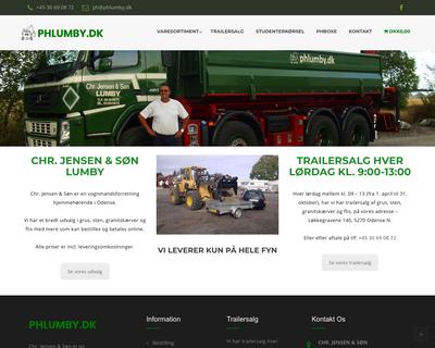 phlumby.dk website
