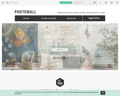photowall.dk website