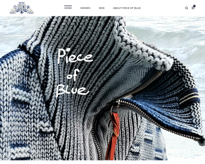 pieceofblue.com website