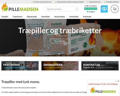 pillemadsen.dk website