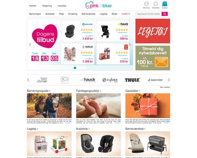 pinkorblue.dk website