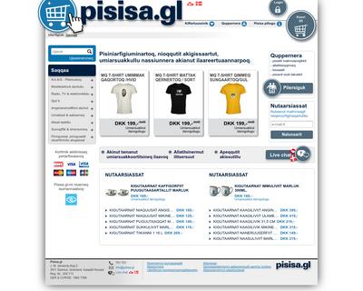pisisa.gl website