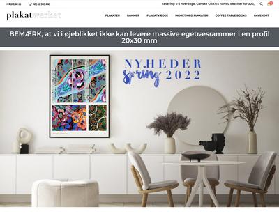 plakatwerket.dk website