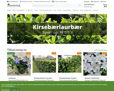 plantetorvet.dk website