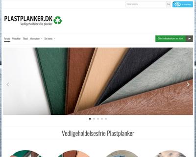 plastplanker.dk website