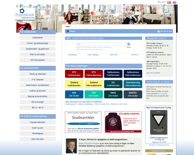 polyteknisk.dk website