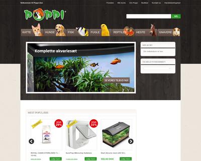 poppizoo.dk website