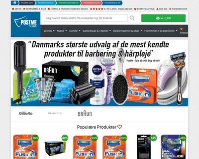 postmeshave.dk website