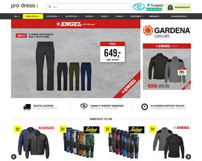 pro-dress.com website