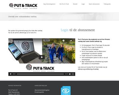 putandtrack.com website