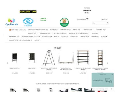 qvalitet.dk website
