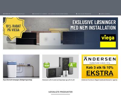 rabat-vvs.dk website