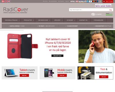 radicover.dk website
