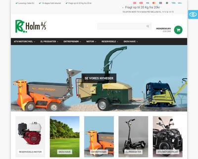 rcholm.dk website