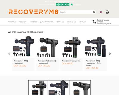 recoverym8.dk website