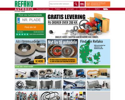 refako.dk website