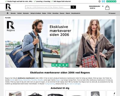 regovs.dk website
