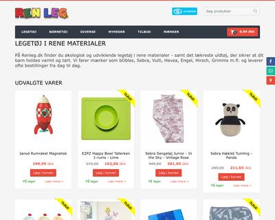 renleg.dk website
