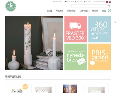 rikkitikkishop.dk website