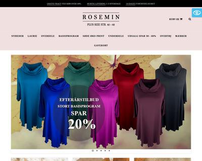 roseminmode.dk website
