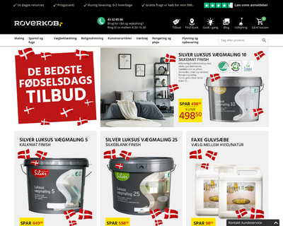 roverkob.dk website