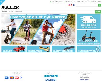 rull.dk website