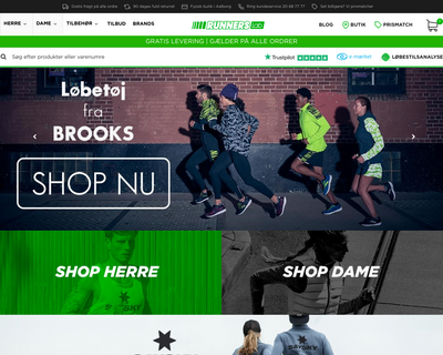 runnerslab.dk website