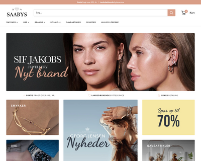 www.saabys.dk website