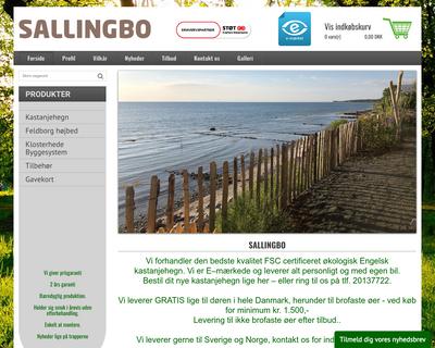 sallingbo.dk website