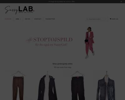 sassylab.dk website
