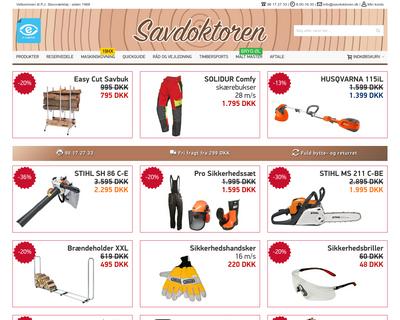 savdoktoren.dk website