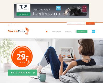 saverflex.dk website