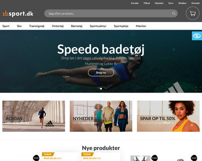 sbsport.dk website