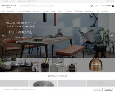 scandinaviandesigns.net website