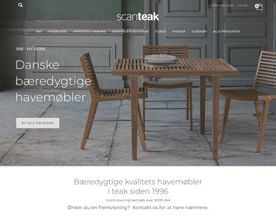ankerdenmark.dk website