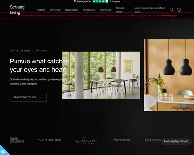 schiang-living.dk website
