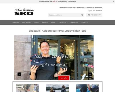 schoubertelsensko.dk website