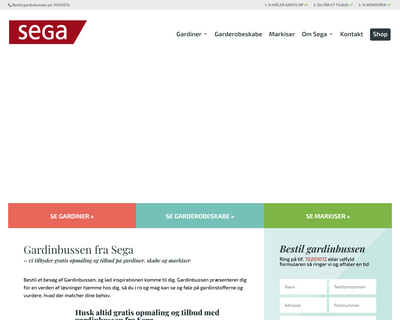 sega.dk website