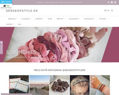 senseofstyle.dk website