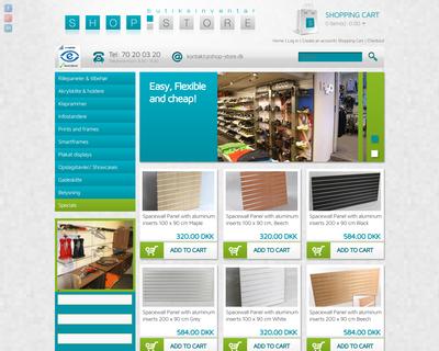 shop-store.dk website