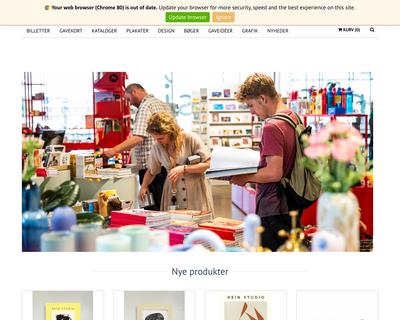 shop.aros.dk website
