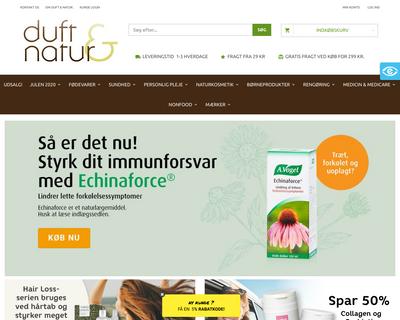 shop.duft-natur.dk website