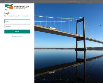 www.shop.turteori.dk website
