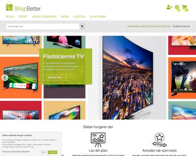 shopbetter.dk website