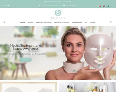 shopmedicoline.dk website